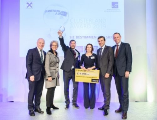 Tex2Mat hat den Clusterland Award  gewonnen!
